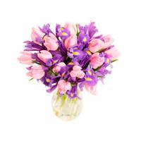 """Букет из тюльпанов """"Весенний рассвет"""""""