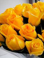 """Букет из желтых роз """"Золотое сердце"""""""