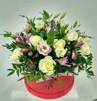 """Коробка с цветами """"Очарованное сердце"""""""