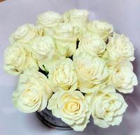 """Розы в коробке """"Зимняя сказка"""""""