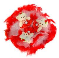 Букет c мишками (3)