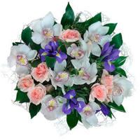 """Букет с орхидеями """"Жемчужина"""""""