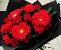 """Букет из красных роз """"Стиль"""""""