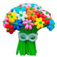 Букет ромашек из шаров