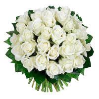 """Букет из белых роз """"Принцесса"""""""