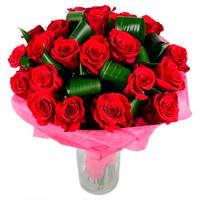 """Букет из красных роз """"Дорогому человеку"""""""
