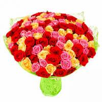 """Букет из 101 розы """"Богатство"""""""